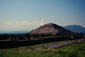 Teotihuacan Archaeological Site. México