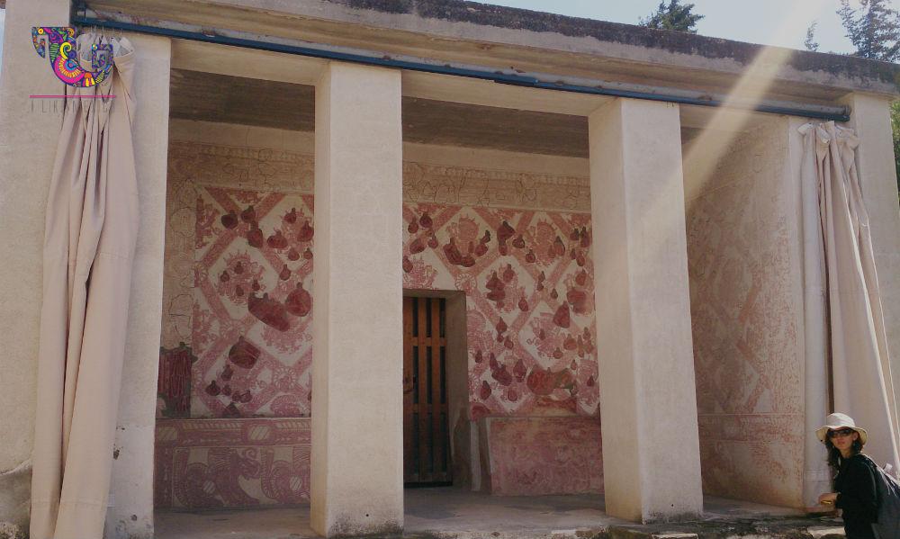Los teotihuacanos daban una gran importancia a la pintura mural como complemento de su arquitectura.