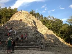 Cobá pyramids. Riviera Maya Tours.