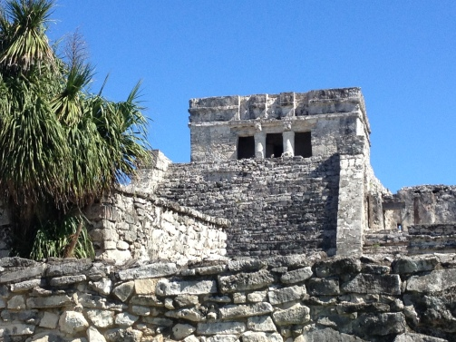 The main building at Tulum is called El Castillo or The Castle, but it is not. It's a temple.