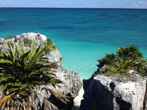 Caribbean Sea, the vew from Tulum, Riviera Maya