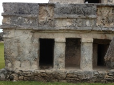 Tulum keeps some details of its glorious past.