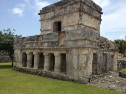 Tulum Temple of the Frescoes. Riviera Maya tours.