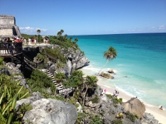 Tulum, Caribbean Sea. Riviera Maya Tour
