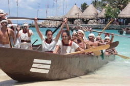 Riviera Maya, a place where nature and traditions come together. Sacred Mayan Journey at Xcaret Park.