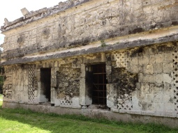 One of the most beautiful buildings at Chichén Itzá, Yucatán.