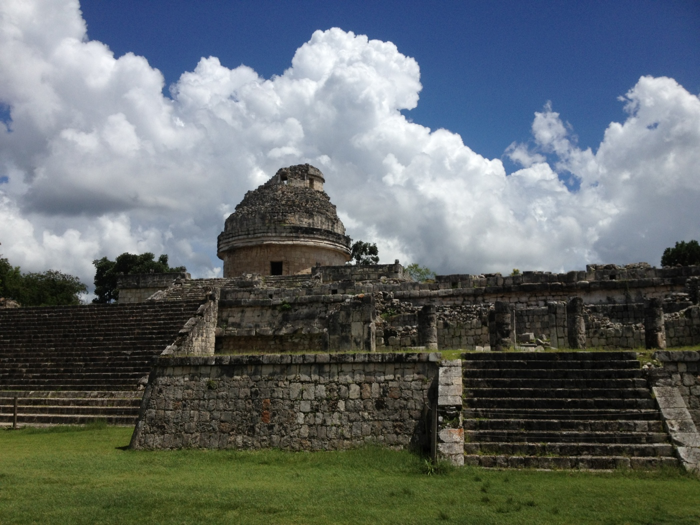 The Observatory or El Caracol, at Chichén Itzá, Yucatán & Riviera Maya.