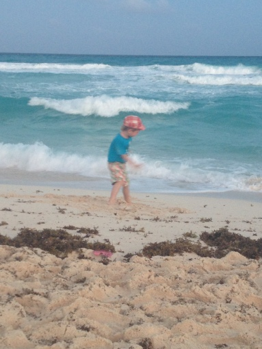 Beautiful and wide beaches allow children enjoy sand and waves.