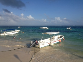 One of the best places for snorkeling is Puerto Morelos, close to Cancún.