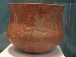 Amazing Mayan Pottery at the Cancun Maya Museum.