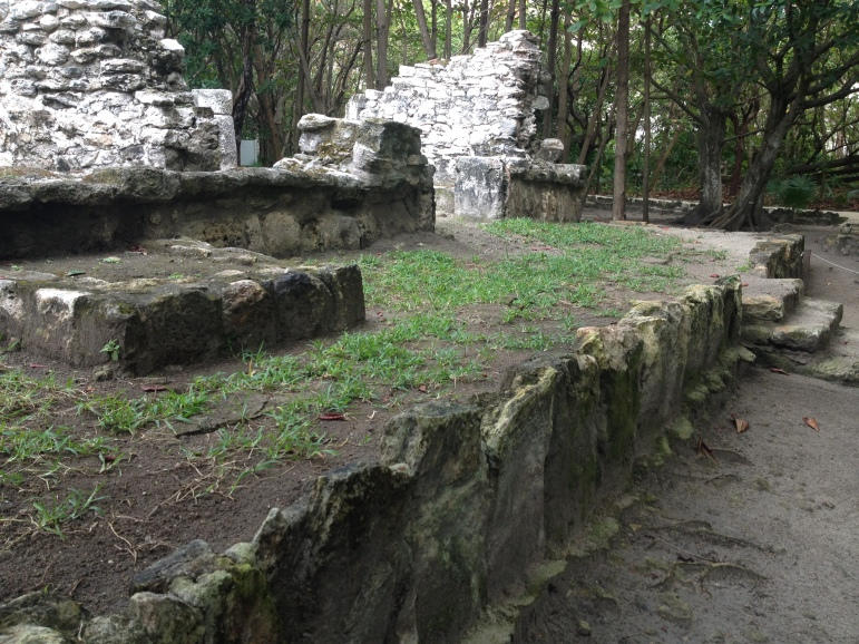 San Miguelito Archaeological site in Cancun