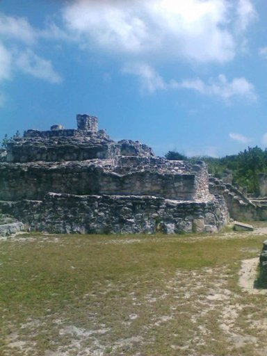 Archaeological site El Rey Cancun, Quintana Roo